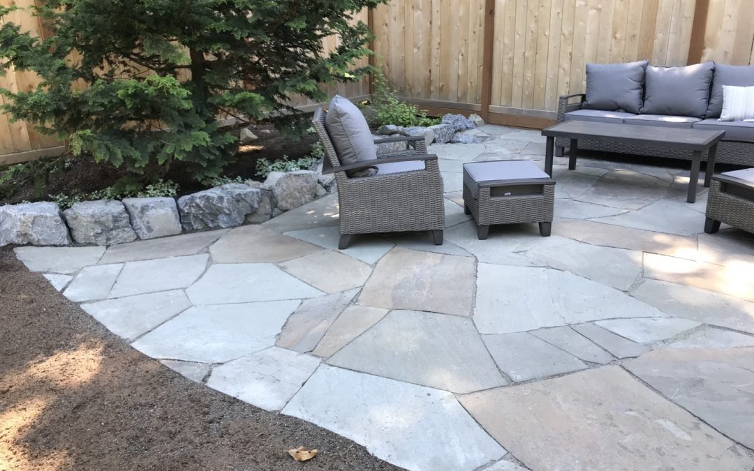 Bluestone Patio in North Bend, WA